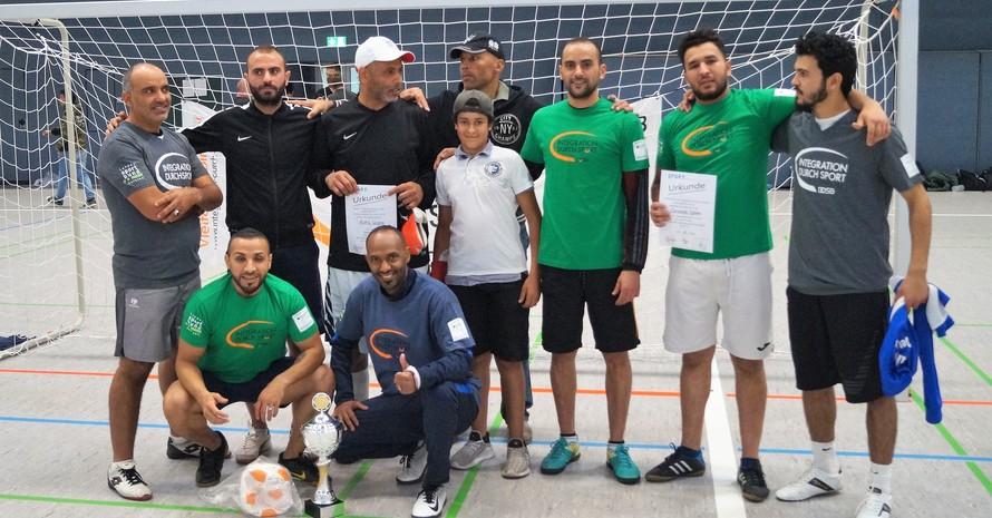 Die sportlichen Sieger Alahli (Foto: Integration durch Sport)