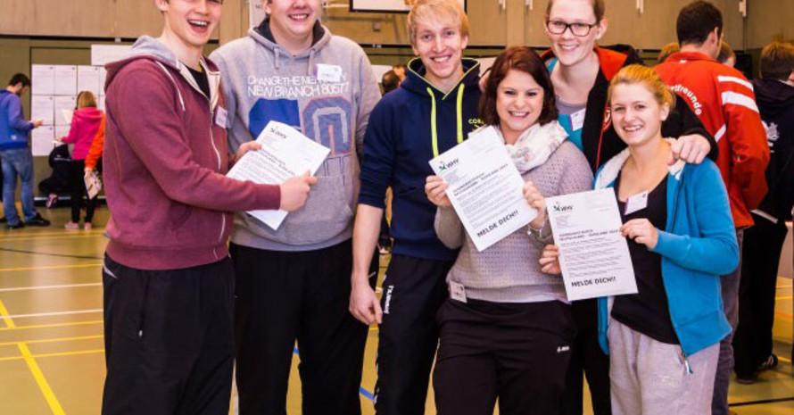 Soziale Bildung, wie z.B. im Sportverein sollte  für Kinder und Jugendliche selbstverständlich sein. Foto: LSB NRW