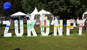 """Das Bürgerfest des Bundespräsidenten stand unter dem Motto """"Lust auf Zukunft"""". Foto: Axel Langenbach"""