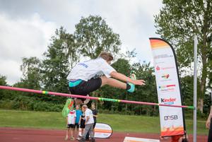 """BKK24 unterstützt im Rahmen ihrer Gesundheitsinitiative """"Länger besser leben."""" das Deutsche Sportabzeichen. Foto: wirkhaus/Meike Engels"""