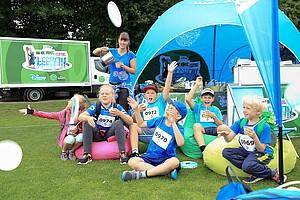 Am Disney Zelt leckere Smoothies genießen und einen zusätzlichen Energie-Kick abholen (Foto: Treudis Naß)