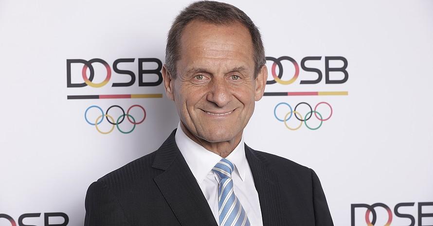Alfons Hörmann wird bei der DOSB-Mitgliederversammlung am 1. Dezember in Düsseldorf wieder für das Amt des DOSB-Präsidenten kandidieren. Foto: DOSB / Jörg Carstensen