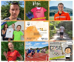 Rückblick in Bildern auf den Olympic Day Run 2021; Foto: DOA