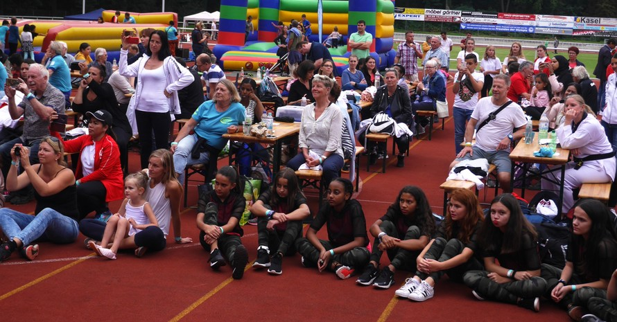 Mehr als 600 Besucher überzeugten sich von der Vielfalt des Sports (Quelle: Sportjugend Hessen)