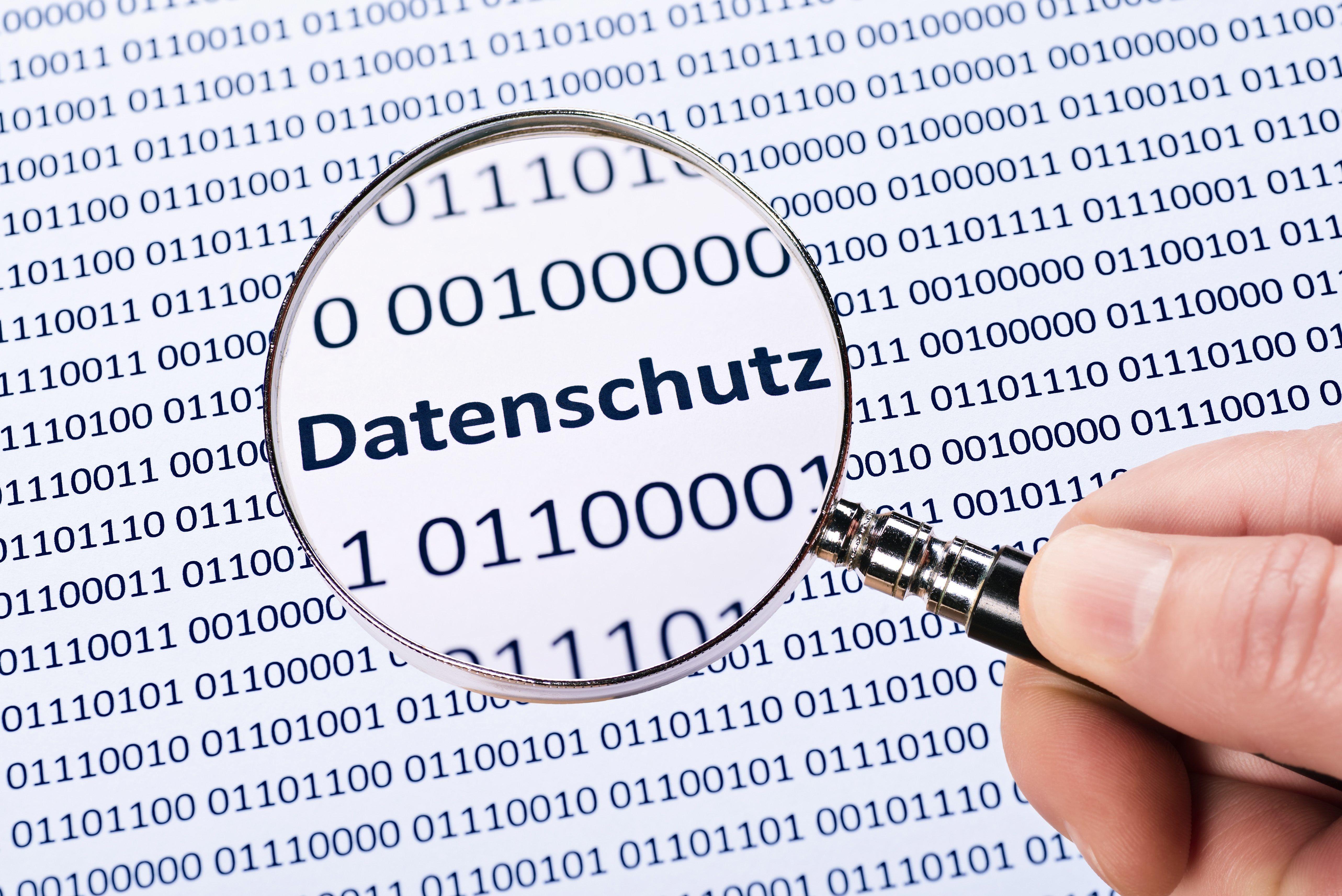Datenschutz dpa100462303