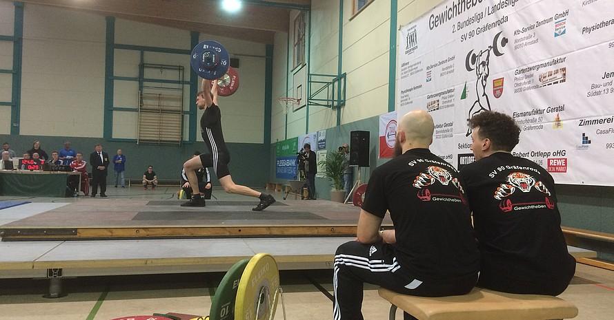 Finale der 2. Bundesliga im Gewichtheben beim Stützpunktverein SV 90 Gräfenroda