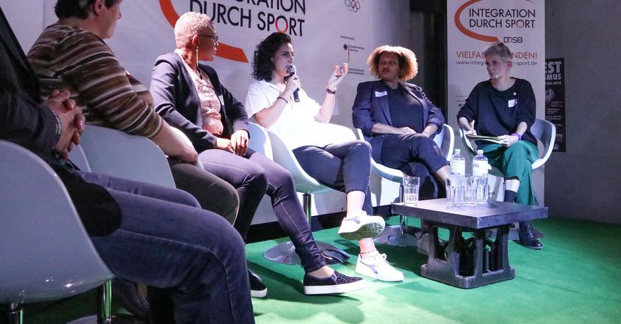 """Talkrunde zum Thema """"Frauenpower im Sportverein"""""""