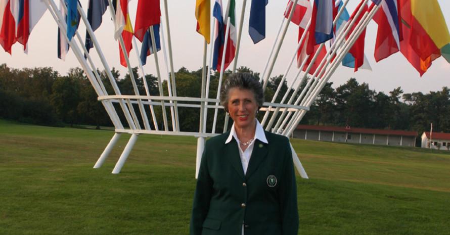 Marion Thannhäuser, dier erste Präsidentin der European Golf Association (EGA). Copyright: Deutscher Golf Verband