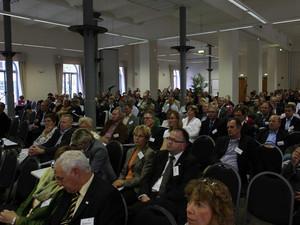 Die Delegierten bei der Bundeskonferenz Sportentwicklung. Foto: Bildschön