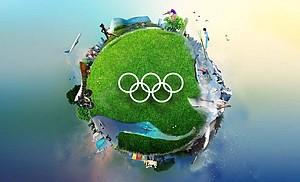 18 Nachhaltigkeitsziele für die Ausrichtung Olympischer Spiele sind im Nachhaltigkeitsbericht festgehalten. Foto: Screenshot vom Titelbild des IOC Sustainability Report