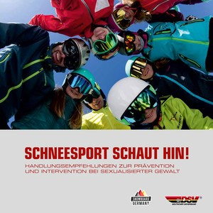 Die Broschüre von Deutschem Skiverband und Snowboard Germany Foto: DSV