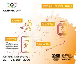 Anleitung zum Olympic Day Run Copyright: DOA