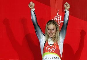 Olympiasiegerin Sylke Otto feiert am 7. Juli ihren 50. Geburtstag. Foto: picture-alliance