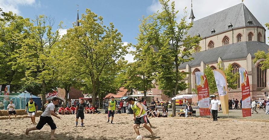 """Der Deutsche Olympische Sportbund und Coca-Cola Deutschland suchen zum vierten Mal """"Deutschlands aktivste Stadt"""". Foto: mission-olympic.de"""