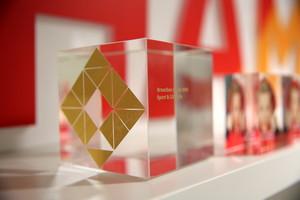 So sieht der Preis für hervorragende digitale Markenkommunikation aus. Foto: DOSB