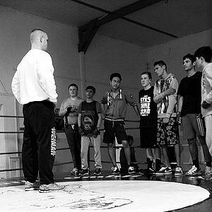 Training beim Stützpunktverein Boxclub Wacker Gotha