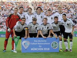 Wie die Nationalmannschaft unterstützt auch die ganze Bundesliga die Bewerbungsgesellschaft München 2018.