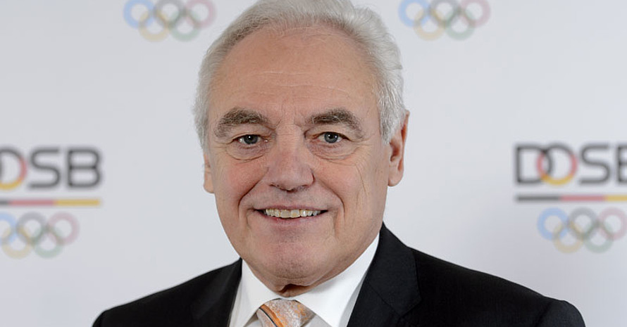 Walter Schneeloch ist seit Dezember 2018 Ehrenmitglied des DOSB. Foto: DOSB