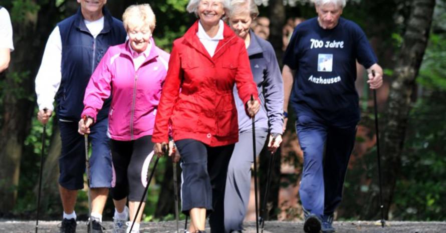 Sport und Bewegung wirken sich positiv auf das körperliche und geistige Wohlbefinden aus. Foto: LSB NRW