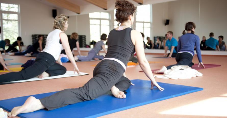 Yogakurse als Prävention werden zum Teil von den Krankenkassen bezuschusst. Foto: LSB NRW