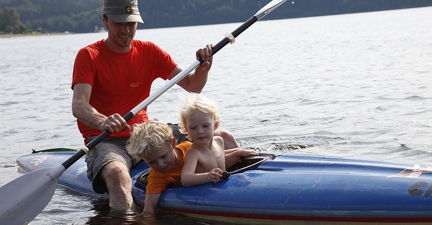 Zeitlicher Stress hält Eltern davon ab, mit ihren Kindern Sport zu treiben. Foto: DOSB/Jens Steingässer