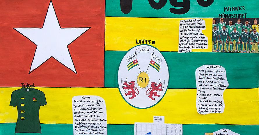 Togo Schule in der Köllnischen Heide Team 2,