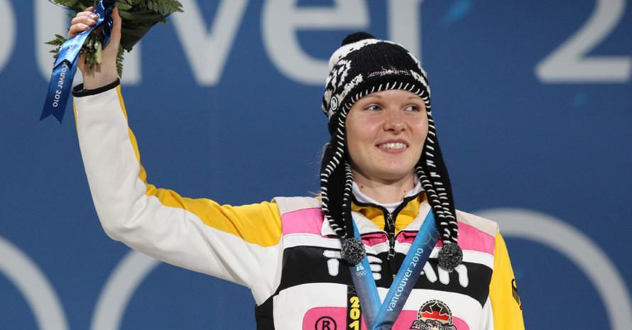 Stephanie Beckert ist die erfolgreichste deutsche Athletin auf kanadischem Eis bei den Olympischen Winterspielen 2010. Copyright: picture-alliance
