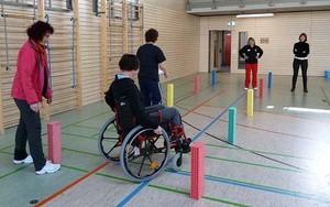 Einer der drei Schwerpunkte des LSB Sachsen ist die Förderung des inklusiven Vereinssports in Sachsen. Foto: LSB Sachsen