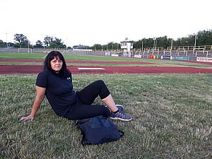 """""""Ich möchte vor allem Kinder motivieren und ihnen die Freude am Sport zeigen."""" Silvana Günther (Foto: privat)"""