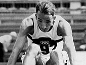 Manfred Steinbach bei den Olympischen Spielen 1960 in Rom. Foto: picture-alliance