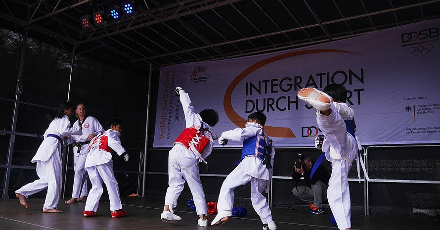 Aktive Kampfsportkünste eines IdS-Stützpunktvereins (Quelle: Sportjugend Hessen)
