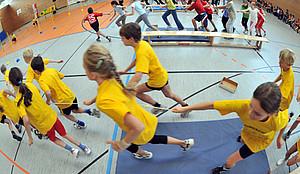 Die Deutsche Sportjugend setzt sich für den Schulsport ein. Copyright: picture-alliance