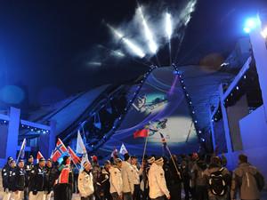 Eröffnung der Ski-WM 2011 in Garmisch-Partenkirchen. Foto: picture-alliance