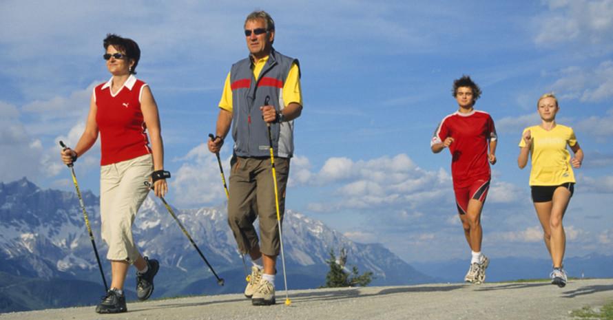 Sport in der Natur hat viele Anhänger. Copyright: picture-allaince