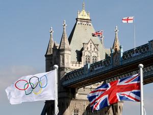 In London laufen die Olympia-Vorbereitungen auf Hochtouren. Foto: picture-alliance