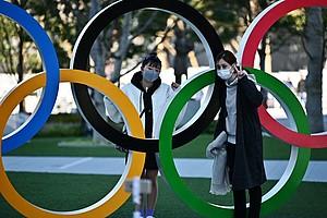 Trotz der wachsenden Zahl an Corona-Infizierter in Japan ist man in Tokio und im IOC zuversichtlich, dass die Spiele ab dem 24. Juli stattfinden können. Foto: picture-alliance