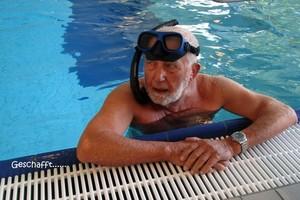 Roland Wiedemann ist mit fast 95 Jahren immer noch ein passionierter Sportler (Foto: Herta Wiedemann)
