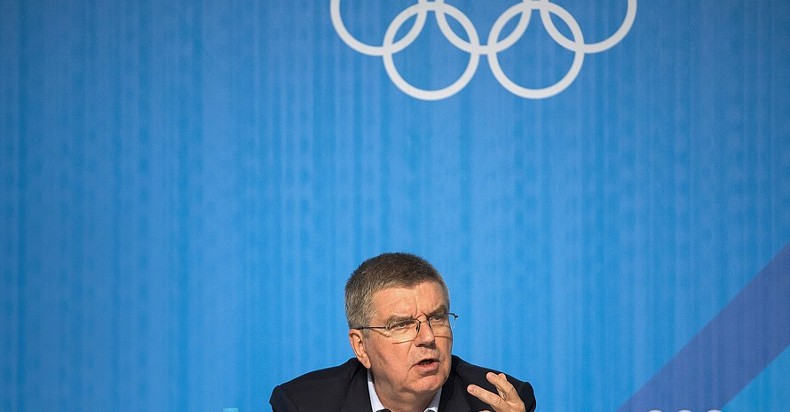 IOC-Präsident Thomas Bach; Foto: picture-alliance