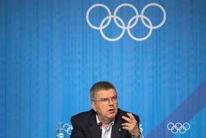 IOC-Präsident Thomas Bach; Foto: picture-alliance