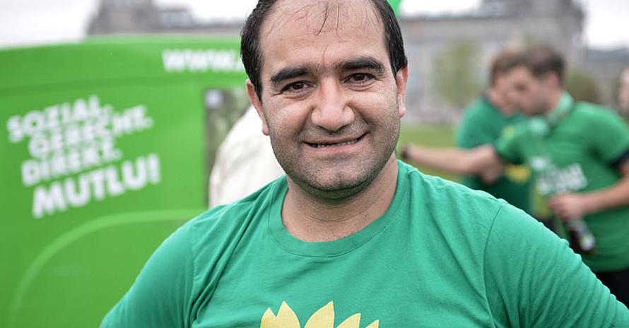 Özcan Mutlu ist sport- und bildungspolitischer Sprecher der Bundestagsfraktion Bündnis 90/Die Grünen. Foto: picture-alliance