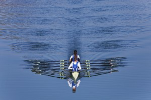 Vierer ohne Steuermann beim Training; Foto: picture-alliance