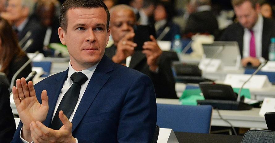 Der 35-jährige Pole Witold Banka ist neuer Präsident der WADA. Foto: picture-alliance