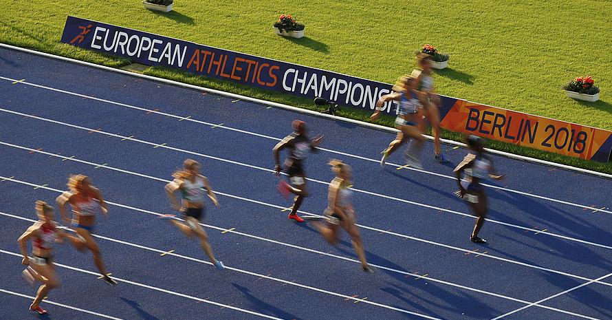Noch bis 12. August findet die Leichtathletik-EM im Berliner Olympiastadion statt. Foto. picture-alliance