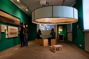 """Virtueller Rundgang durch die Ausstellung """"Die Berge und wir"""". Foto: Alpines Museum DAV"""
