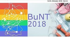 Auf der BuNT 2018 werden neben Homo- und Trans*feindlichkeit auch weitere Arten von Diskriminierung aufgrund von Geschlecht und sexueller Orientierung/Identität behandelt. Foto: Screenshot von der Website