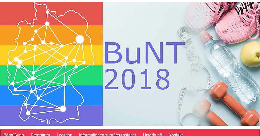 Das Veranstaltungslogo BuNT 2018