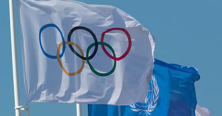 Die Idee der Völkerverständigung ist Teil der olympischen Bewegung. Foto: picture-alliance