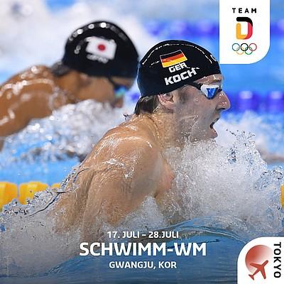 Schwimm-WM in Korea