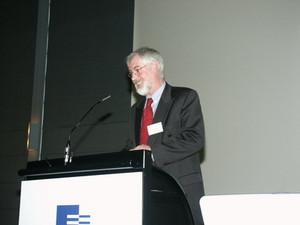 """Der """"Vater"""" des Präventionstages bei der 10. Veranstaltung (Foto: www.praeventionstag.de)"""