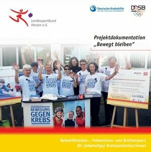"Projektdokumentation ""Bewegung gegen Krebs"" (Quelle: lsb h)"